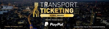IJPP project gets recognized in London at Transport & Ticketing  Global awards