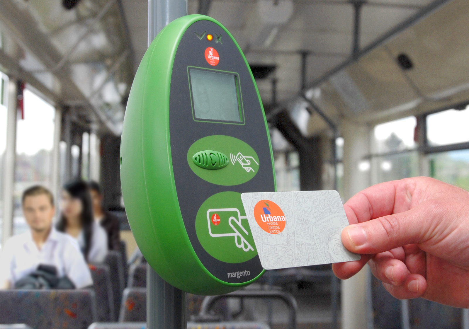 Urbana City card upgraded with support for Visa and MasterCard funding